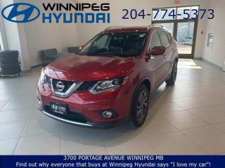 Used 2016 Nissan Rogue SL - Bose audio system, Heated seats, Power liftgate for sale in Winnipeg, MB