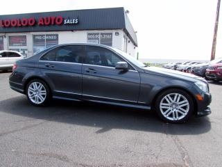 Used 2011 Mercedes-Benz C-Class C250 LEATHER AUTO SUNROOF NO ACCIDENT CERTIFIED for sale in Milton, ON