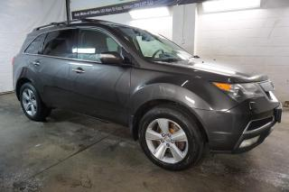 Used 2012 Acura MDX TECH AWD DVD NAVI CAMERA CERTIFIED 2YR WARRANTY BLUETOOTH SUNROOF HEATED LEATHER MEMORY POWER SEAT for sale in Milton, ON