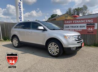 Used 2010 Ford Edge LIMITED, Only 67000 Kilometers. Navigation, Panoramic Roof for sale in Brantford, ON