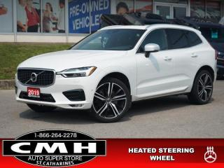 Used 2019 Volvo XC60 T6 AWD R-Design  NAV CAM ROOF HTD-S/W 21-AL for sale in St. Catharines, ON