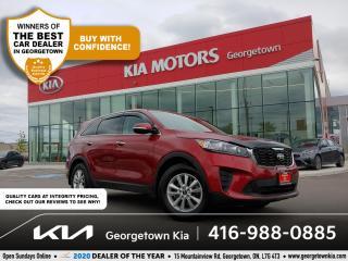 Used 2019 Kia Sorento LX | 1 OWNR | CLN CRFX | BU CAM | HTD SEATS | 73K for sale in Georgetown, ON