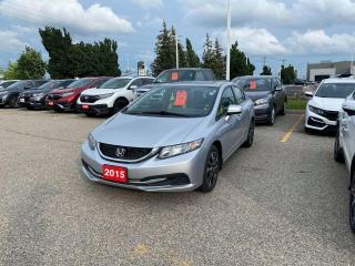 Used 2015 Honda Civic Sedan EX for sale in Waterloo, ON