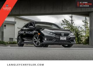 Used 2019 Honda Civic Hatchback Sport Touring CVT  Leather/ Sunroof/ Backup/ Accident Free for sale in Surrey, BC