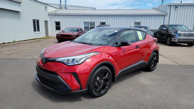 2021 Toyota C-HR XLE Premium NIGHTSHADE (BLACK ROOF W/PREMI