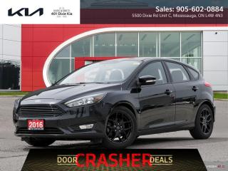 Used 2016 Ford Focus SE $59.99 Week / ONLY 37,000KM for sale in Mississauga, ON