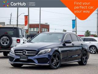 Used 2018 Mercedes-Benz C-Class C300 4Matic Navigation Panoramic Sunroof Bluetooth Blind Spot Keyless Heated Front Seats 18