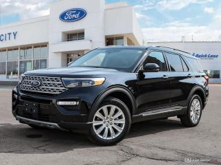 New 2021 Ford Explorer LIMITED for sale in Winnipeg, MB