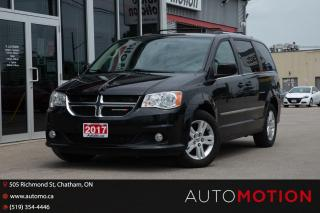 Used 2017 Dodge Grand Caravan Crew for sale in Chatham, ON