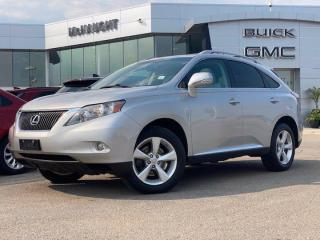 Used 2010 Lexus RX 350   Heated/Cooled Front Seats   Navigation   for sale in Winnipeg, MB