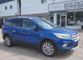 Used 2017 Ford Escape Titanium for sale in Mono, ON