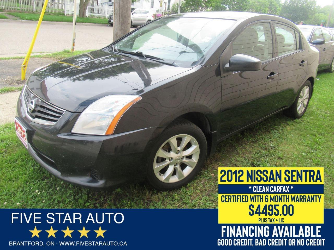2012 Nissan Sentra 2.0 *Clean Carfax* Certified w/ 6 Month Warranty