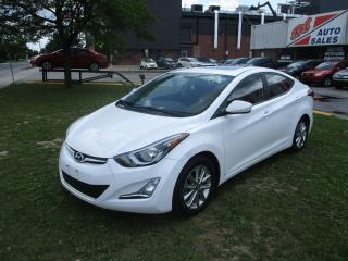 Used 2015 Hyundai Elantra Sport Appearance ~ SUNROOF ~ BLUETOOTH ~ HTD SEATS for sale in Toronto, ON