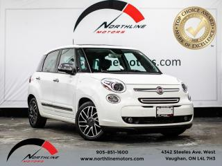 Used 2014 Fiat 500L Lounge/Back up cam/Sunroof/navigation/Bose for sale in Vaughan, ON