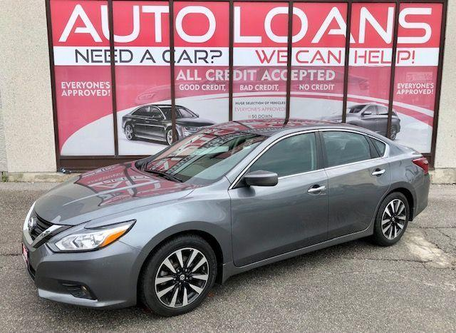 2018 Nissan Altima SV-ALL CREDIT ACCEPTED