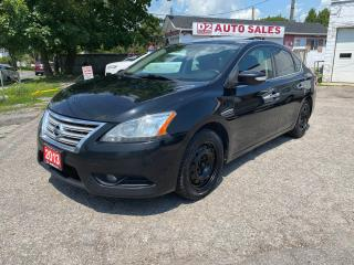 Used 2013 Nissan Sentra SL/Leather/Roof/Navi/Rev Camera/AS IS Special for sale in Scarborough, ON