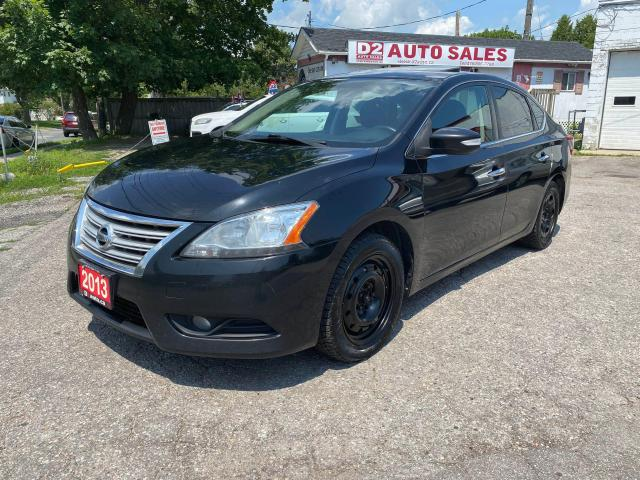 2013 Nissan Sentra SL/Leather/Roof/Navi/Rev Camera/AS IS Special