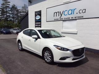 Used 2018 Mazda MAZDA3 LEATHER, HEATED SEATS/WHEEL, BLUETOOTH, ALLOYS!! for sale in Richmond, ON