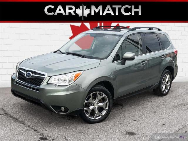 2016 Subaru Forester I LIMITED / LEATHER / ROOF / NAV /