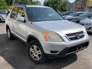 Used 2002 Honda CR-V EX L/AWD/LEATHER/ROOF/LOADED/ALLOYS for sale in Scarborough, ON