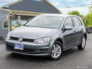 Used 2017 Volkswagen Golf Trendline,REARVIEW CAM,HEATED SEATS,BLUETOOTH for sale in Orillia, ON