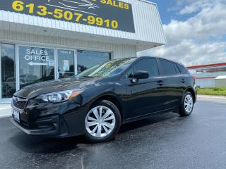 Used 2019 Subaru Impreza Convenience Low KMS! AWD! Backup Camera! Bluetooth! for sale in Kingston, ON