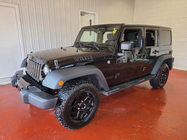 2016 Jeep Wrangler Willys Wheeler Unlimited