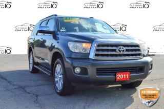 Used 2011 Toyota Sequoia Platinum 5.7L V8 AS IS for sale in Grimsby, ON