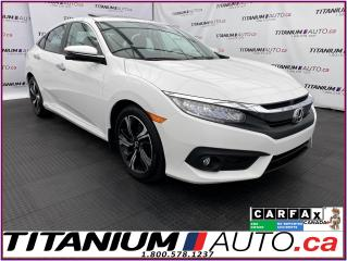Used 2016 Honda Civic Touring+Turbo+GPS+Leather+Camera+Romote Start+XM for sale in London, ON