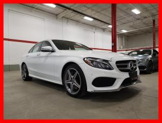 Used 2018 Mercedes-Benz C-Class C300 4MATIC PREMIUM PLUS SPORT 360 CAM LED for sale in Vaughan, ON