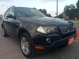 Used 2007 BMW X3 3.0i-EXTRA CLEAN-AWD-LEATHER-PANORAMA ROOF-ALLOYS for sale in Scarborough, ON