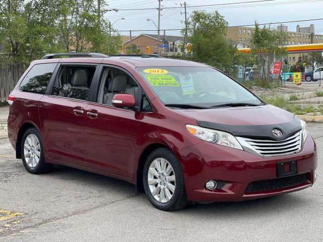 2013 Toyota Sienna Limited   Navigation/Panoramic Sunroof/DVD/Leather Photo3