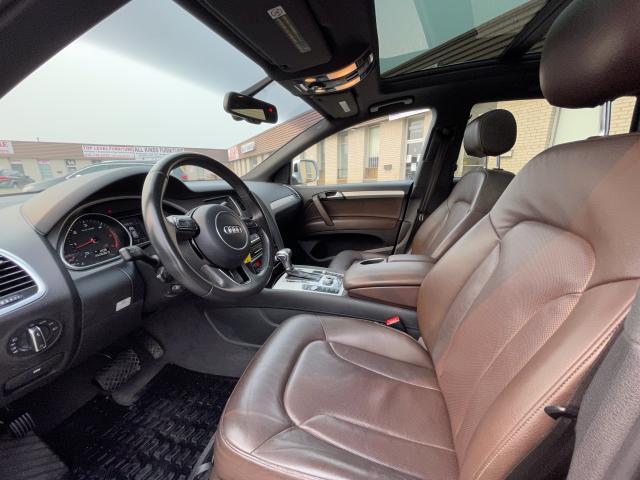 2014 Audi Q7 3.0L TDI Technik Navigation/Pano Sunroof /7Pass Photo11