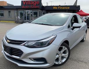 Used 2018 Chevrolet Cruze Premier Auto HEATED SEATS, BACKUP CAMERA, LEATHER INTERIOR, BLUETOOTH, APPLE CARPLAY, ANDROID AUTO for sale in Saskatoon, SK