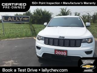 Used 2020 Jeep Grand Cherokee Laredo ALTITUDE**4X4**LOCAL TRADE**LEATHER TRIMMED SEATS* for sale in Tilbury, ON