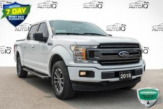 Used 2018 Ford F-150 XLT LOW MILEAGE CREW CAB   LOCAL TRADE for sale in Innisfil, ON