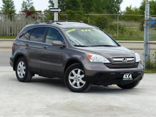 Used 2009 Honda CR-V 4WD,EX-L,LEATHER,FULLY LOADED,CERTIFIED,ONE-OWNER,SUNROOF for sale in Mississauga, ON
