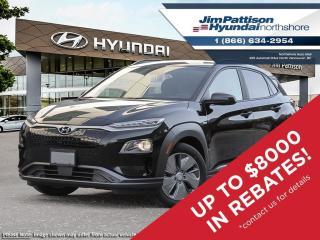 New 2021 Hyundai KONA EV for sale in North Vancouver, BC