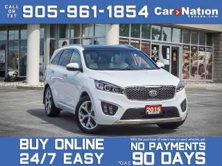 Used 2016 Kia Sorento 3.3L SX 7-Seater| AWD| SOLD| SOLD| SOLD| SOLD| for sale in Burlington, ON