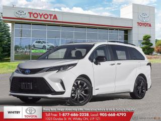 New 2021 Toyota Sienna XSE for sale in Whitby, ON