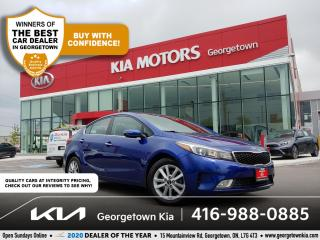 Used 2017 Kia Forte EX+   B/UP CAM   HTD SEATS   B/TOOTH   POWER GROUP for sale in Georgetown, ON