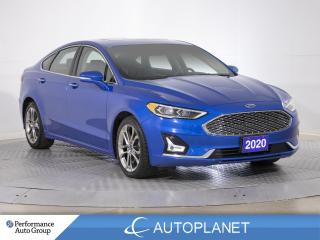 Used 2020 Ford Fusion Hybrid Titanium, Navi, Sunroof, Remote Start, New Tires! for sale in Clarington, ON