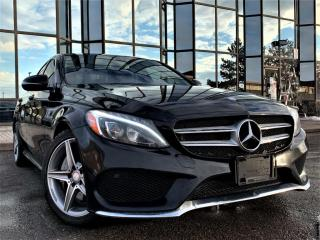 Used 2017 Mercedes-Benz C-Class C300 4MATIC|PANORAMIC|HEATED SEATS|AMG PKG|ALLOYS! for sale in Brampton, ON