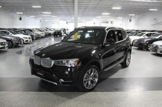 Used 2017 BMW X3 XDRIVE28i NO ACCIDENTS I LEATHER I REAR CAMERA I PUSH START for sale in Mississauga, ON