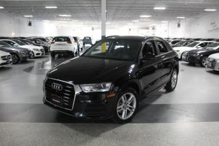 Used 2017 Audi Q3 QUATTRO NO ACCIDENTS I LEATHER I PANOROOF I HEATED SEAT I BT for sale in Mississauga, ON
