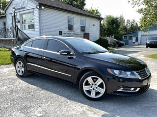 Used 2014 Volkswagen Passat CC No-Accidents SportLine Pano roof Bluetooth Leather MINT for sale in Sutton, ON