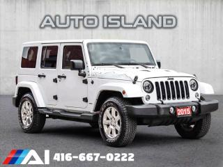 Used 2015 Jeep Wrangler Unlimited LEATHER**NAVIGATION**AUTOMATIC for sale in North York, ON