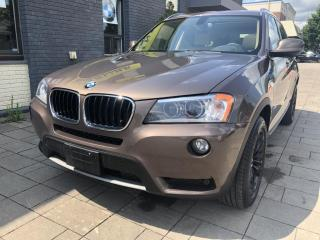 Used 2013 BMW X3 AWD 28i only 66175 kms! for sale in Nobleton, ON