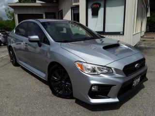 Used 2018 Subaru WRX Sport - BACK-UP CAM! HEATED SEATS! 6-SPEED MT! for sale in Kitchener, ON