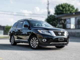 Used 2015 Nissan Pathfinder SL|4WD |7 PASS|LEATHER|B.SPOT|BACK UP |PRICE TO SELL for sale in North York, ON